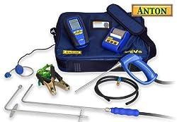Anton Sprint eVo 2 flue gas analyser kit 3 + printer, leak detector, CO probe set by Anton Industrial Services
