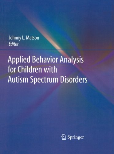 Applied Behavior Analysis For Children With Autism Spectrum Disorders front-21641