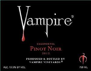 2012 Vampire Pinot Noir 750 mL