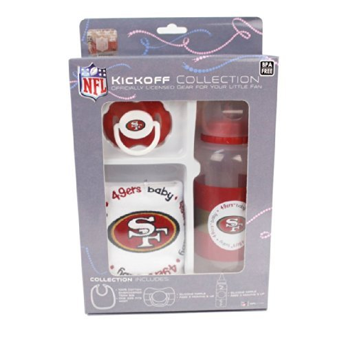 Nfl San Francisco 49Ers Baby Gift Set Newborn, Kid, Child, Childern, Infant, Baby front-432747