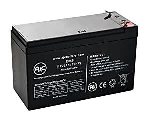 Eaton Powerware PW9130L700T 12V 9Ah UPS Battery - This is an AJC Brand® Replacement