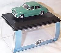 oxford island green MGZA car 1.43 scale diecast model