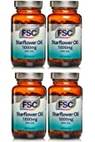 STARFLOWER OIL 1000mg X 60 CAPSULES FSC FOUR PACK