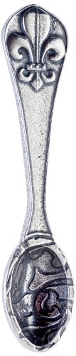 Crosby & Taylor Fleur de Lys Pewter Salt Spoon, Petite (Crosby And Taylor Measuring Cups compare prices)