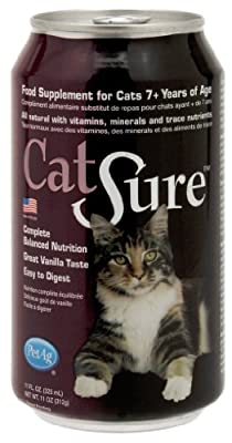 CatSure® Liquid Meal Replacement for Senior Cats, Safety-Sealed 11oz Cans