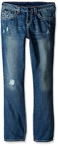 True Religion Big Boys Geno Color Combo Super T Jean, Engine Wash, 16