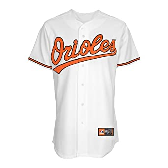 MLB Mens Baltimore Orioles Nick Markakis White Baseball Jersey by Majestic by Majestic