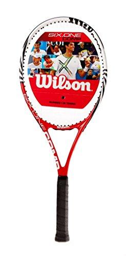 Wilson Six.One Comp (besaitet) Turnierschläger