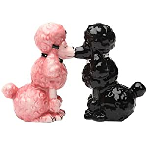 Poodles Salt Pepper Shakers Collectible Set
