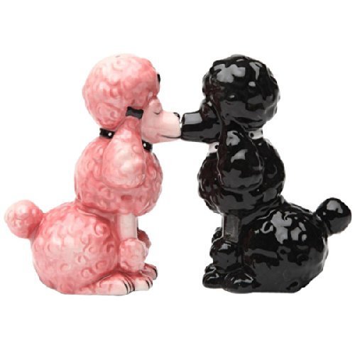 Poodle Collectibles Salt & Pepper Shakers Collectible Set