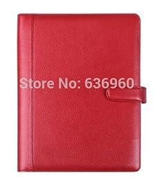 New hot 2015 Free shipping high grade genuine leather A4 folder multifunctional business manage unisex folder