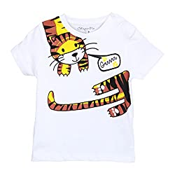 Chirpie Pie by Pantaloons Boy's T-Shirt_Size_12 - 18 Months