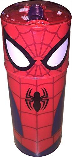 Marvel Comic Book Superhero Flip Top Sports Bottle (Spiderman)