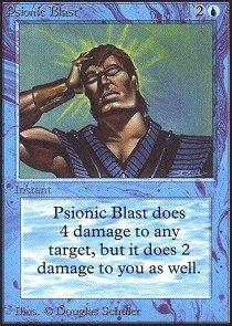 Magic: the Gathering - Psionic Blast - Collectors Edition