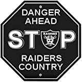 NFL Oakland Raiders Stop Sign