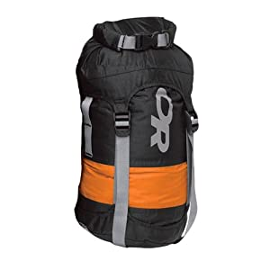 Outdoor Research Airpurge Dry 10-Liter Compression Sack (Black, One Size)