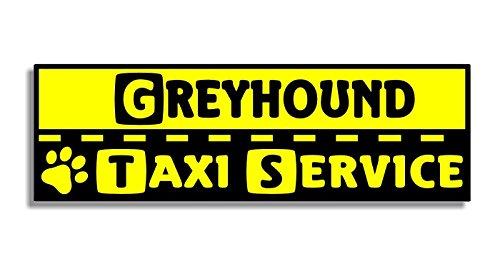 greyhound-taxi-service-car-bumper-sticker-auto-adesivi-porta-di-casa-window-door-dog-cane-sign-decal