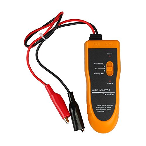 Network Cable Locator : Underground wire locator network cable tracker tester lan