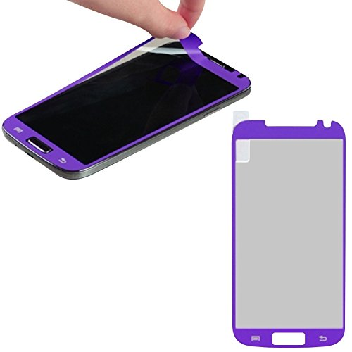 Mybat Coating Screen Protector For The Samsung Galaxy S4 - Retail Packaging - Purple