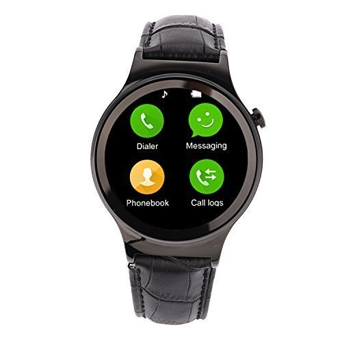 EgreenTech Round Dial Bluetooth Smart Watch with Calling SIM and TF card Pedometer Heart Rate Monitor HIGH QUALITY