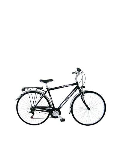 Coppi Bicicleta Trekking Acero Beverly Negro