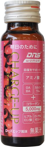 DNS woman CHARGEーUP ローズヒップ風味 50ml×10本入