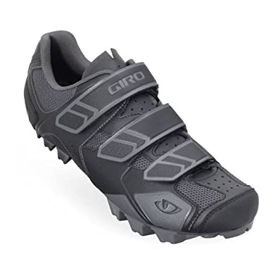 Giro 2012 Mens Carbide Mountain Bike Shoes (Black/Charcoal - 39)
