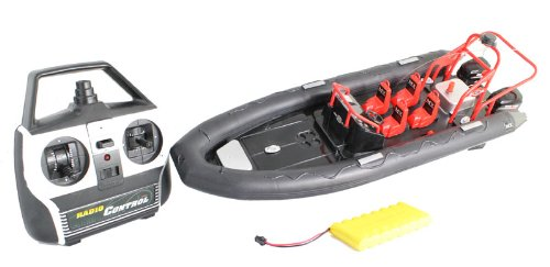 Extreme Patroling Craft Fully Electric RTR RC Boat with Rechargeable Batteries