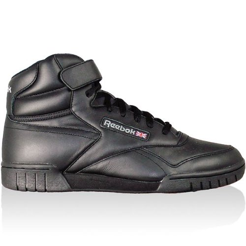 Reebok Ex-O-Fit High SCHWARZ 3478 Size: UK 11