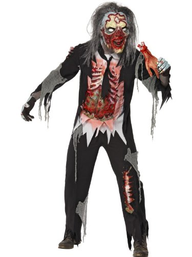 "Zombie Decayed Man Costume Male Chest 42""-44"" 26865L"