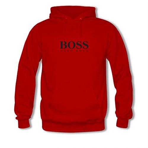 Hugo Boss logo For men Printed Sweatshirt Pullover Hoody (Hugo Boss Deep Red compare prices)