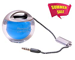 HANGOUT HOS-333-Crystal Mini Speaker -BLUE