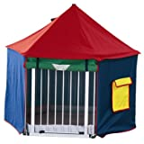 BabyDan BabyDen Playpen Playtent (Multicoloured)by BabyDan