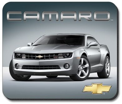 Silver Camaro Mouse Pad - by Art Plates (Mouse Camaro compare prices)