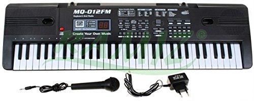 Teclado-MK-012-FM-con-funcin-de-grabacin-micrfono-RADIO-16-sonidos-y-ritmos-10-altavoces-control-de-volumen-61-teclas-la-pantalla-de-cristal-lquido-piano-elctrico