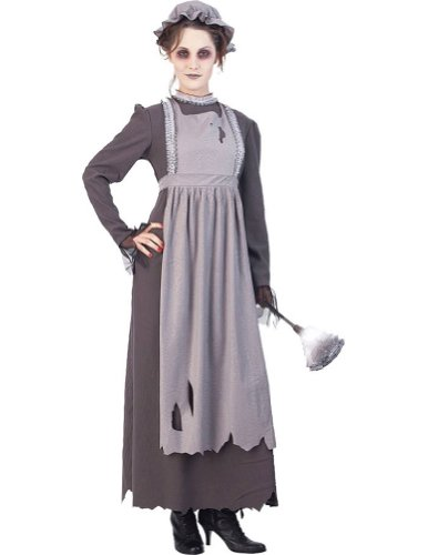 Adult-Costume Elsa The Ghost Maid Md Halloween Costume - Adult Medium