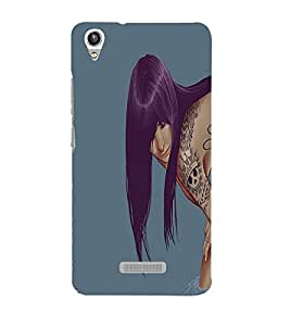 Perfect print Back cover for Lava Pixel V1