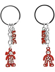 Mumbai Mad ABC_2 Multi-Color Key Chain