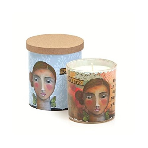 Kelly Rea Roberts Collection Believe Filled Candle