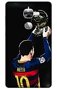 iessential football Designer Printed Back Case Cover for Letv Le 2