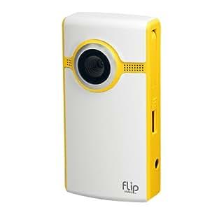 Flip Video Caméscope Ultra 2è Génération avec 4 Go de mémoire Jaune (Import Royaume Uni)