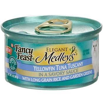 Fancy Feast Elegant Medley`s Yellowfin Tuna Primavera w/ Gar