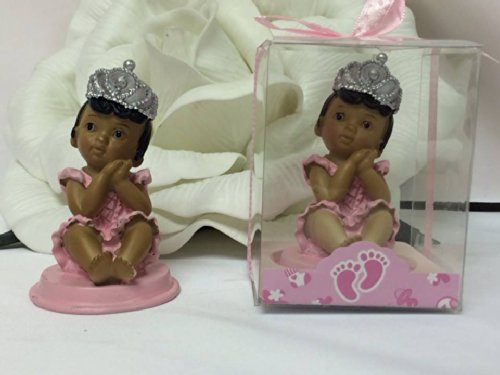5 Ethnic Pink Baby Girl Princess Baby Shower 1St Birthday Party Favor Keepsake front-46805