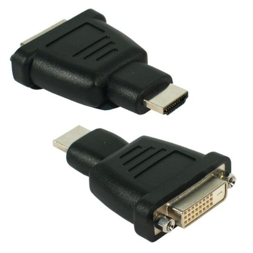Nedis Valueline Female DVI Adapter HDMI Connector - Black