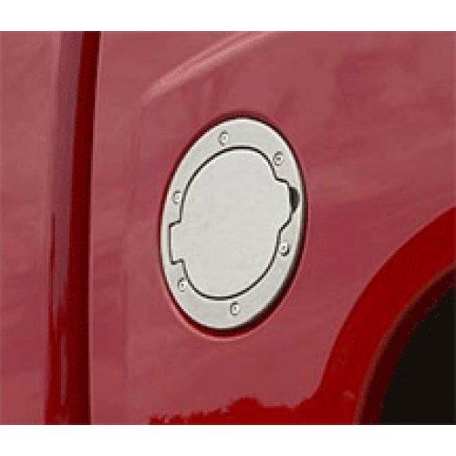 Genuine Dodge RAM Accessories 82209348 Brushed Aluminum Fuel Filler Door (Dodge Ram Logo Fuel Door compare prices)