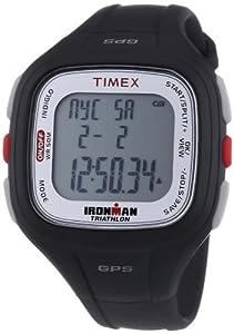 Timex Herren-Armbanduhr XL Ironman Easy Trainer GPS Digital Quarz PlastikT5K754