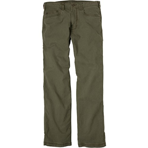 prAna Men's Bronson 32-Inch Inseam Pant (Cargo Green, 32)