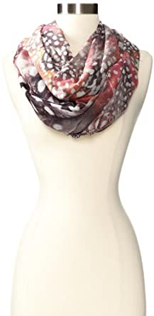Echo Design Women's Flight Of Fancy Infinity Scarf, Magenta, One Size
