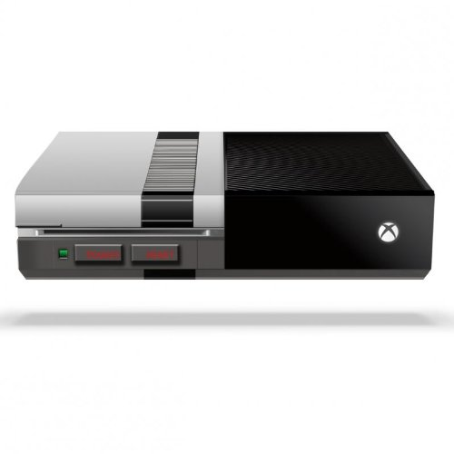 Retro Old School Skin for Xbox One (Protective Vinyl Decal) image
