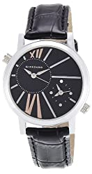 Giordano Analog Black Dial Womens Watch - 60057 (P11641)